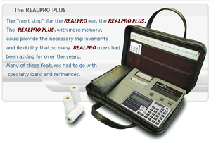 REALPRO Plus Hand-held Computer