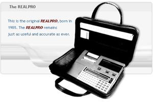 Original REALPRO Hand-held Computer